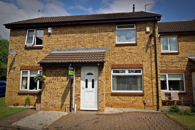 Thumbnail Terraced house for sale in Barford Close, Norton, Stockton-On-Tees