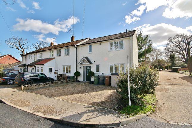 Thumbnail End terrace house for sale in Sandy Lane, Send, Woking