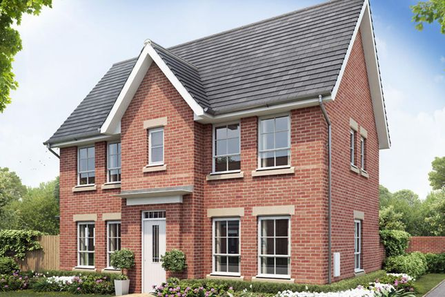 Thumbnail Detached House For Sale In Morpeth At Weddington Road Nuneaton