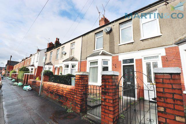 Thumbnail Terraced house for sale in Nursery Court, Llwyn Y Pia Road, Lisvane, Cardiff