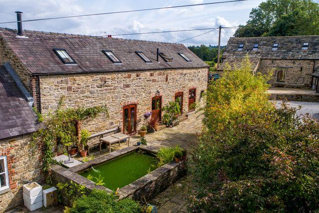 Thumbnail Barn conversion for sale in The Stables, Pocknedge Lane, Holymoorside