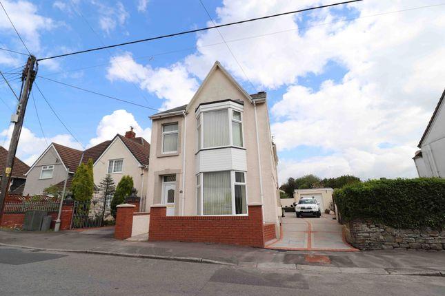 Detached house for sale in Frampton Road, Swansea