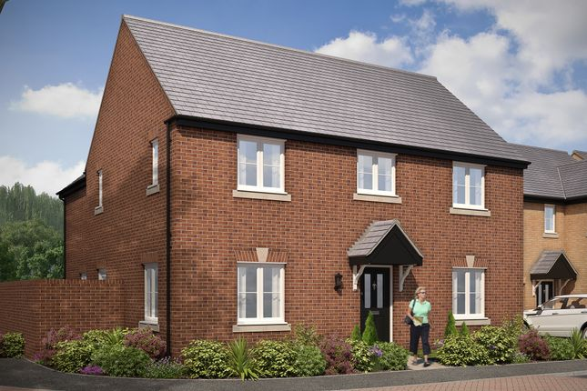 "Thumbnail Detached house for sale in ""The Glinton"" at Gardenfield, Higham Ferrers, Rushden"