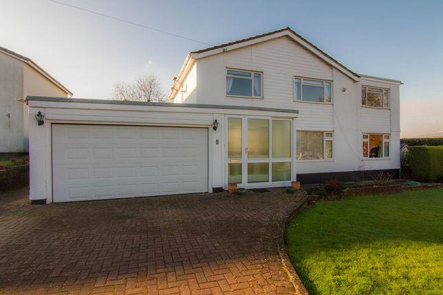 Thumbnail Detached house for sale in Llanwenarth Road, Govilon, Abergavenny
