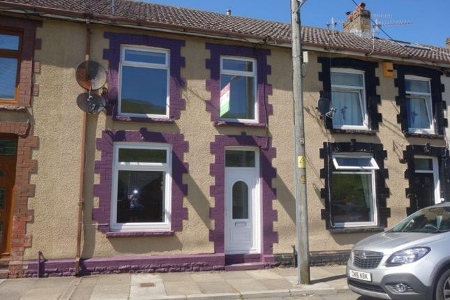 Thumbnail Terraced house to rent in Barratt Street, Treorchy