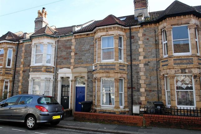 Thumbnail Terraced house for sale in Shaftesbury Avenue, Montpelier, Bristol