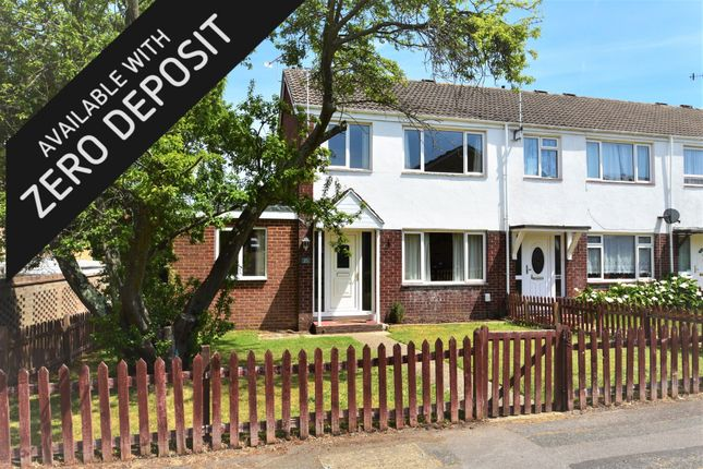 Thumbnail End terrace house to rent in Ferrybridge Green, Hedge End, Southampton