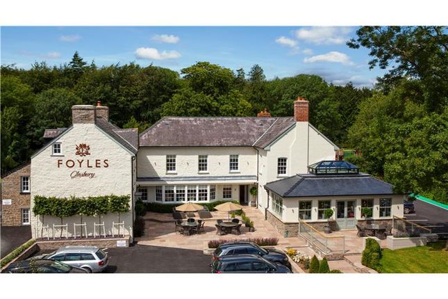 Thumbnail Hotel/guest house for sale in Foyles Of Glasbury, Glasbury-On-Wye, Powys