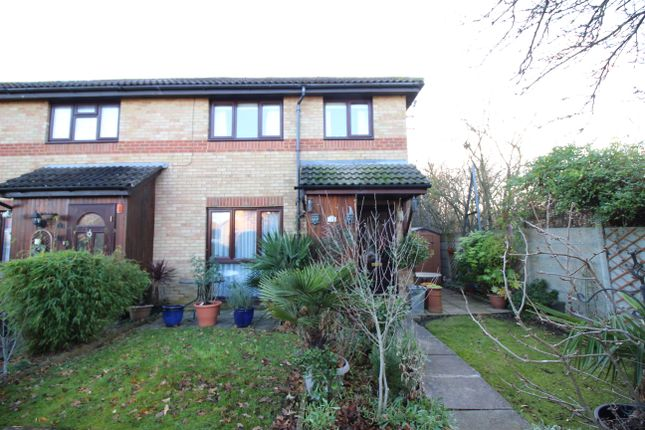 Thumbnail End terrace house for sale in Camberley Close, North Cheam