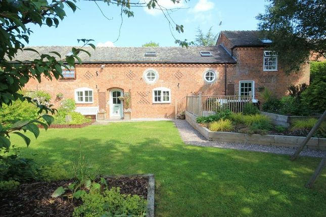 Thumbnail Barn conversion for sale in Broughall, Whitchurch