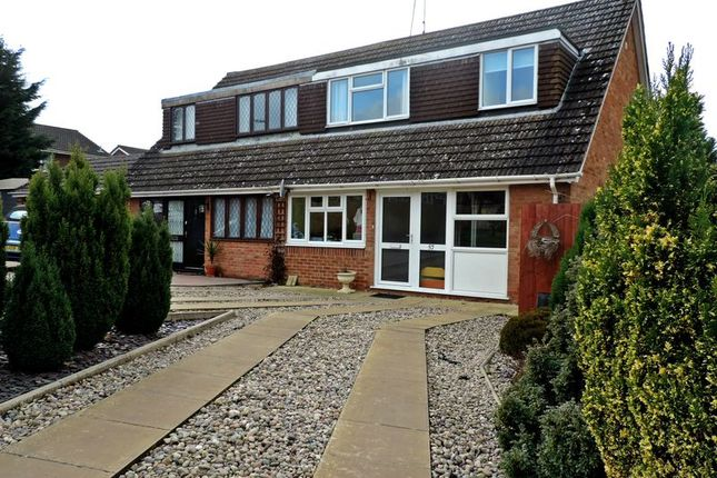 Thumbnail Semi-detached house for sale in Rolfe Crescent, Nether Heyford