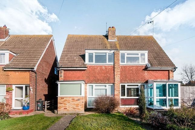 Thumbnail Semi-detached house to rent in Farmlands Close, Polegate
