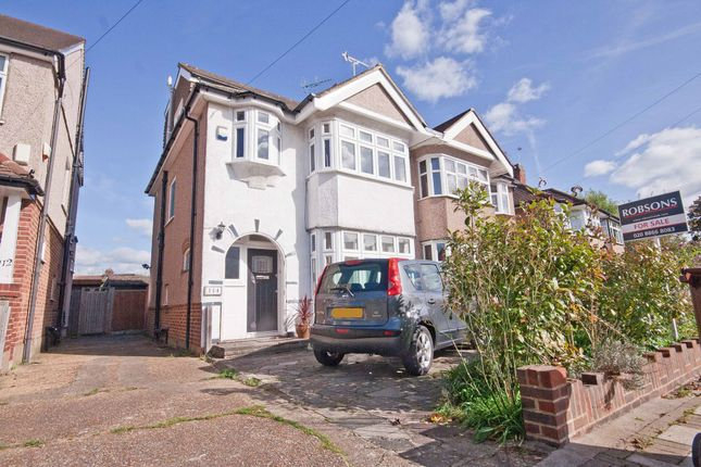 Thumbnail Semi-detached house for sale in Hill Road, Pinner, Middlesex