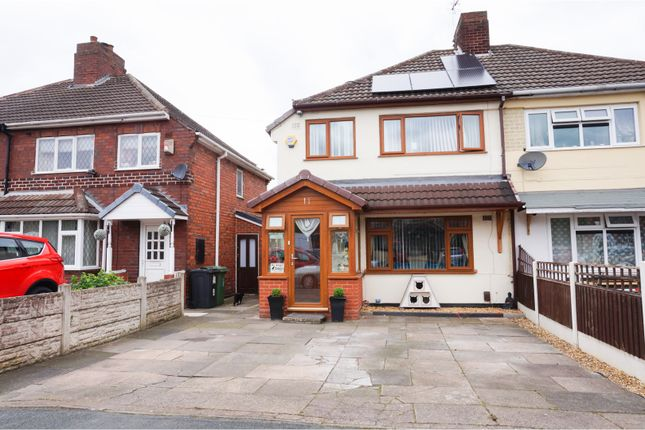 Thumbnail Semi-detached house for sale in Oak Road, Walsall