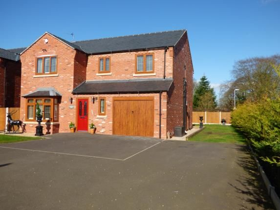 Thumbnail Detached house for sale in Hunters Close, Great Haywood, Stafford, Staffordshire