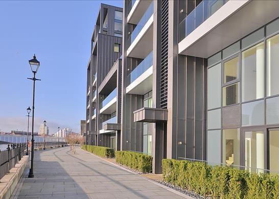 Thumbnail Flat to rent in Riverwalk Apartments, Fulham Riverside, London