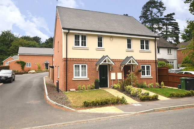 Thumbnail Semi-detached house for sale in Deepcut Bridge Road, Deepcut, Camberley, Surrey