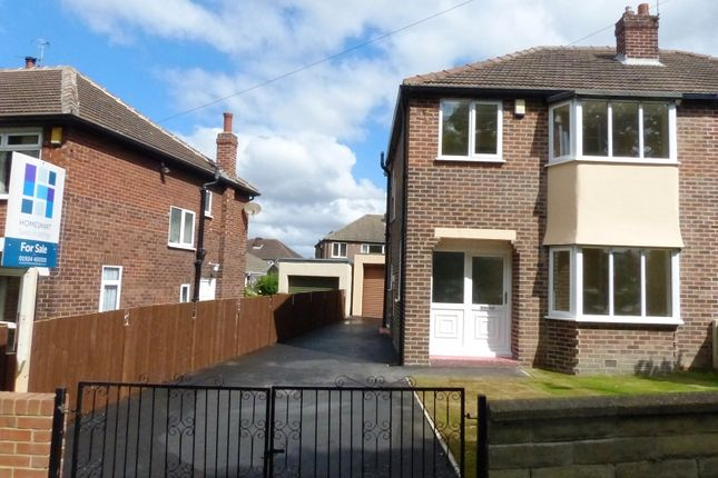 Thumbnail Semi-detached house for sale in Weeland Road, Crofton, Wakefield, West Yorkshire.
