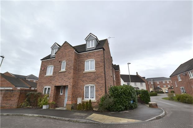 Thumbnail Detached house for sale in Halton Way Kingsway, Quedgeley, Gloucester