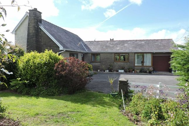 Thumbnail Detached bungalow for sale in Rhos, Llandysul