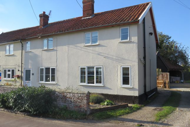 Thumbnail Semi-detached house for sale in Gallants Lane, East Harling, Norwich