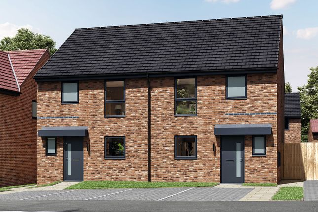 """3 bed semi-detached house for sale in """"The Eveleigh"""" at Alan Peacock Way, Middlesbrough TS4"""
