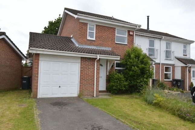 Thumbnail Semi-detached house to rent in Cowslip Close, Gosport