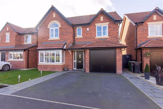 Thumbnail Detached house for sale in Clive Way, Middlewich, Cheshire