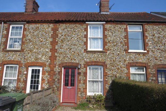 Thumbnail Terraced house to rent in Hempstead Road, Holt