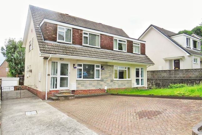 Thumbnail Semi-detached house for sale in Grantham Close, Plympton, Plymouth