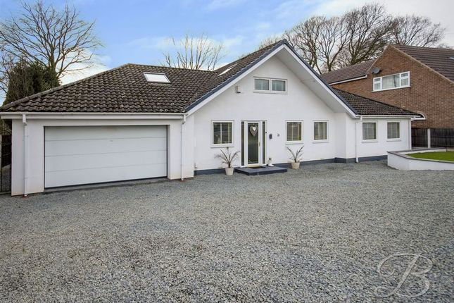 Thumbnail Detached bungalow for sale in Waterson Close, Mansfield