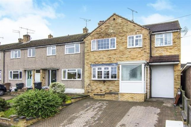 Thumbnail End terrace house for sale in Lime Walk, Chelmsford