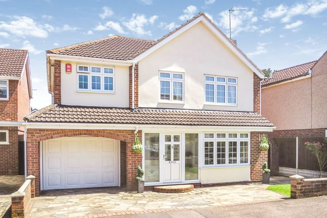 Thumbnail Detached house for sale in Hobsons Close, Hoddesdon