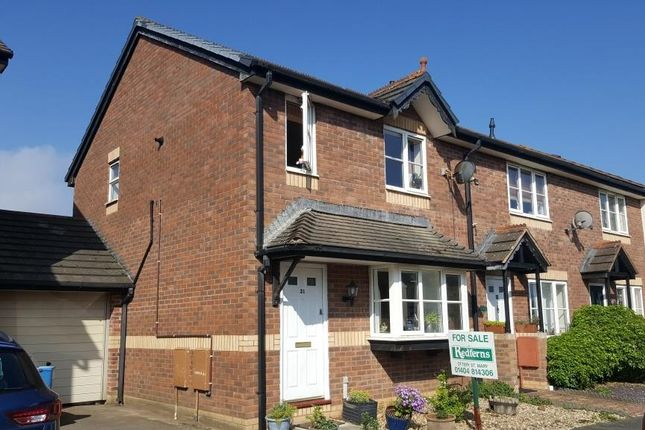 3 bed end terrace house for sale in The Signals, Feniton, Honiton