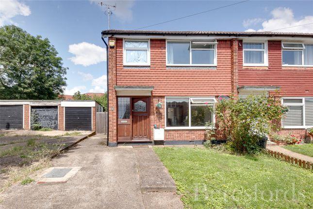 Thumbnail Semi-detached house for sale in Peel Way, Harold Wood