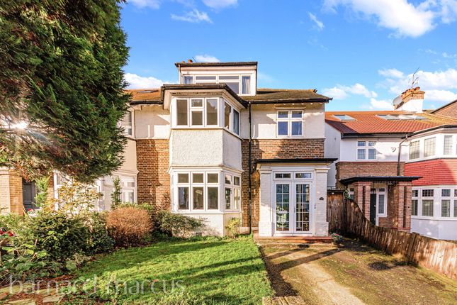 Thumbnail Semi-detached house for sale in Richmond Park Road, London