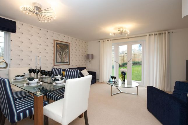 "Thumbnail Semi-detached house for sale in ""Nugent"" at Park View, Moulton, Northampton"