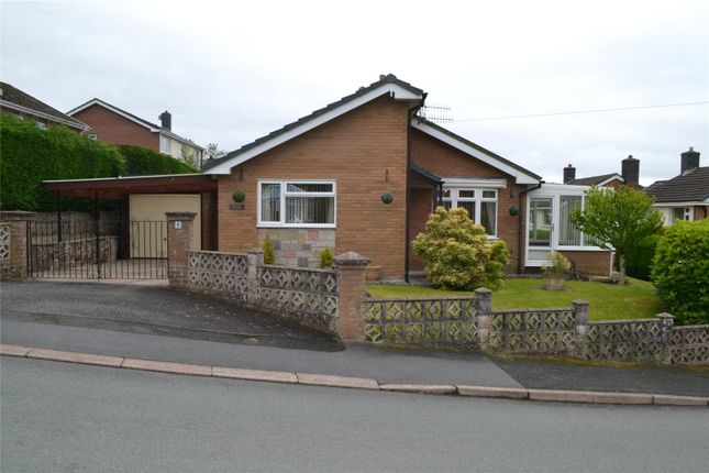 Thumbnail Bungalow for sale in Gorn Road, Llanidloes, Powys