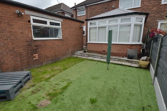 Rear Garden of Kenmore Road, Whitefield, Manchester M45