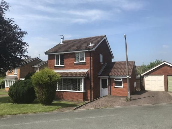 Thumbnail Detached house for sale in Sterndale Drive, Westbury Park, Newcastle Under Lyme, Staffs