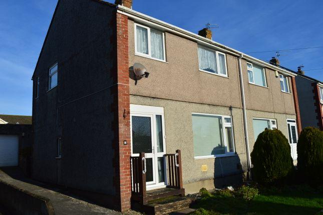 Thumbnail Semi-detached house for sale in Fairfield Crescent, Llantwit Major