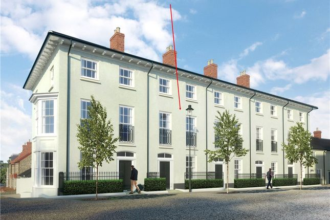 Thumbnail Terraced house for sale in Liscombe Street, Poundbury, Dorchester