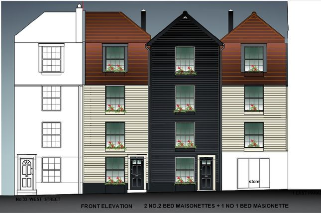 Thumbnail Land for sale in West Street, Hastings Old Town