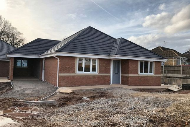 Thumbnail Detached bungalow for sale in Trentley Road, Trentham, Stoke-On-Trent