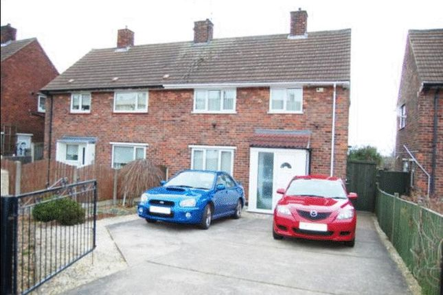 Thumbnail Semi-detached house to rent in Alder Way, Shirebrook, Mansfield
