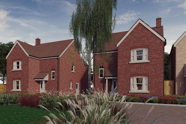 Thumbnail Detached house for sale in Plot 7, 'the Chancellors', Bedford Road, Moggerhanger