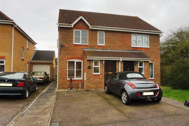 Thumbnail Semi-detached house to rent in Waterford Close, Bletchley, Milton Keynes