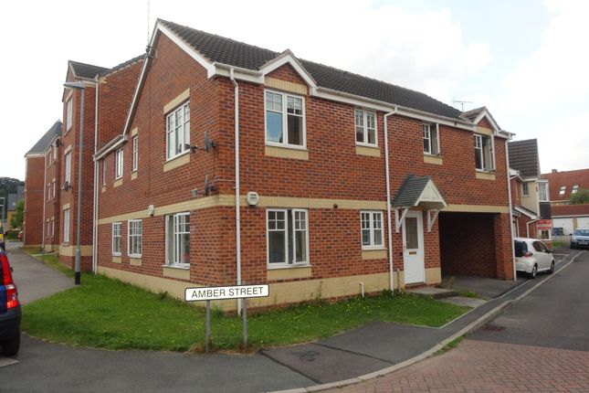 Thumbnail Flat to rent in Sapphire Street, Mansfield