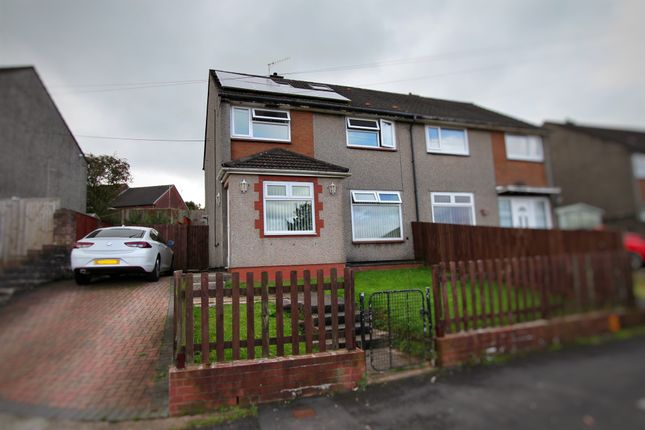 Thumbnail Semi-detached house for sale in Monnow Way, Bettws, Newport