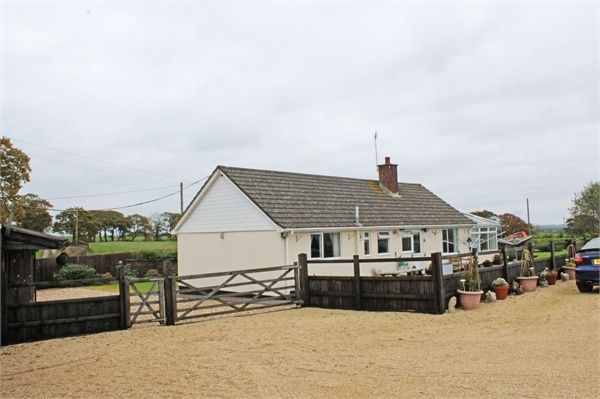 Thumbnail Detached bungalow for sale in Morchard Bishop, Crediton, Devon